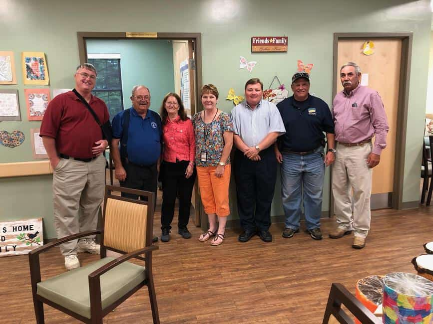 Adult Day Service provides update, acquires new van