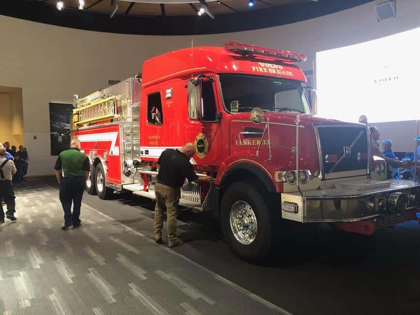 Volvo Trucks' New River Valley Plant Donates Fire Apparatus to Pulaski County