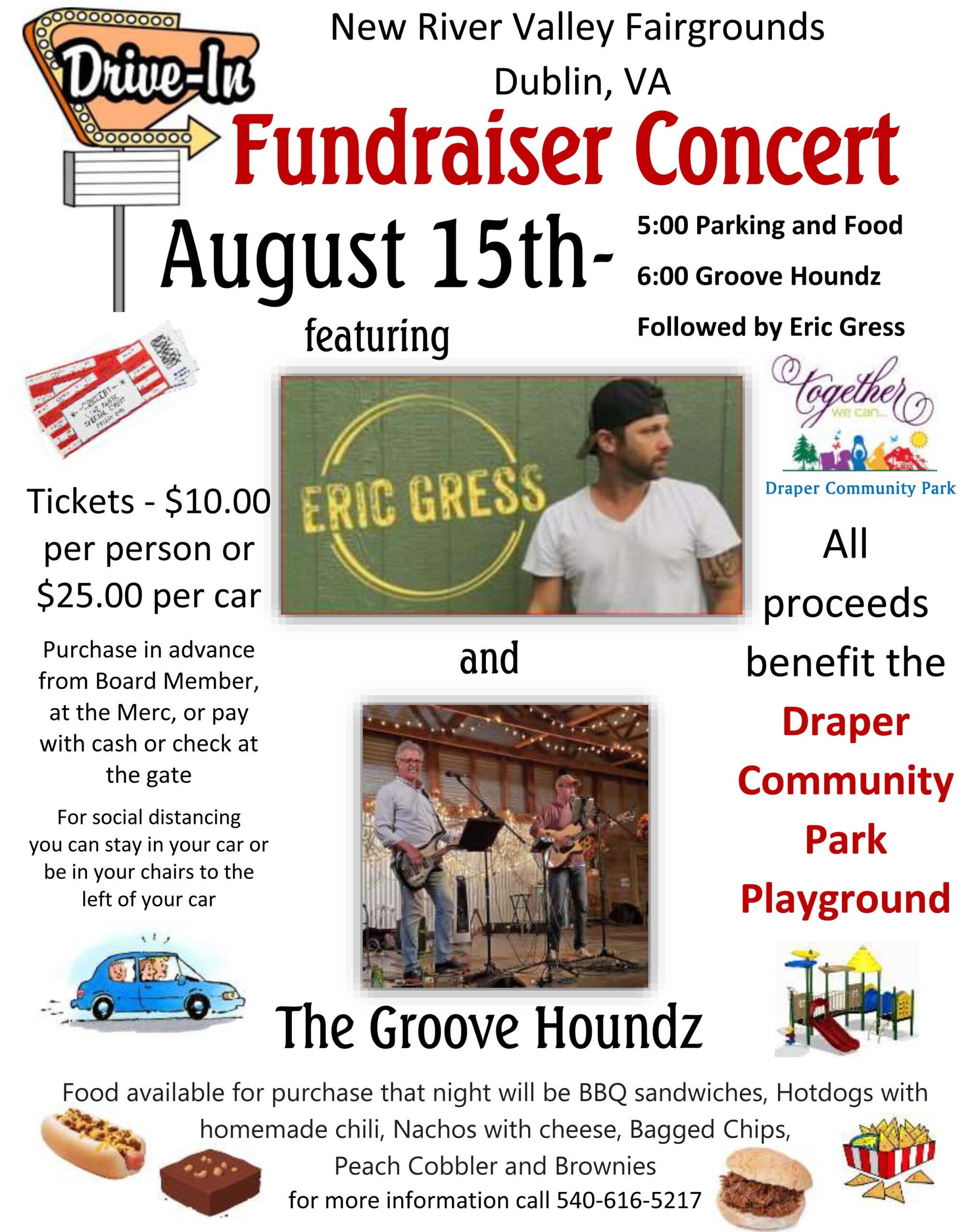 Draper Park fundraiser features Eric Gress