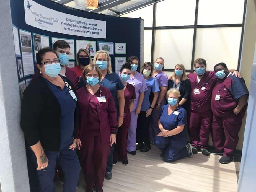 LewisGale Hospital Pulaski Behavioral Health Unit Celebrates First Anniversary
